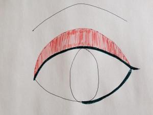sakura eye make