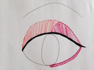 sakura eye make1